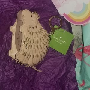 Kate Spade Porcupine Coin Pouch NWT